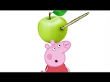 Peppa Pig Funny Song - PPAP Pen Pineapple Apple Pen - Peppa Pig Animation Kids Song Chipmunks Style