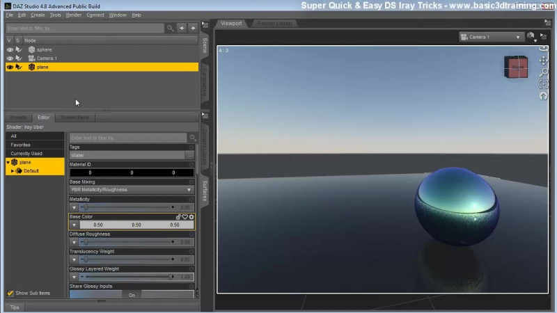 03 04 Shader Presets And Surfaces That Cast Lighting