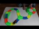 Magic Track светящийся гибкий трек с мостом, тоннелем и 2-мя перекрёстками