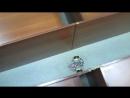 Езда робота по тоннелю на датчиках расстояния 2