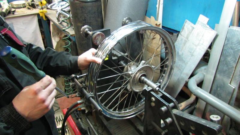 методика спицевания колеса