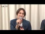 Jung Min - NICONICO live (3.07.17) ч. 4