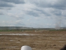 Жаль видео не передает эффект взрывной волны от разрыва снарядов