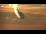 Boeing 787 Dreamliner оставляет за собой огромный конденсационный след