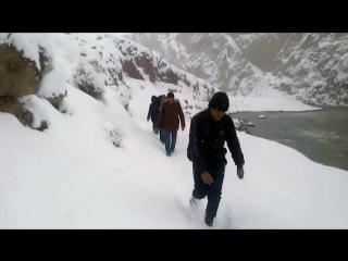 Таджикские студенты пять суток шли пешком на учебу