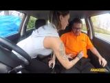 Fake Driving School Chantelle Fox Advanced Lesson in Messy Creampie New Porn 201