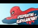ЧЕЛОВЕК-ПАУК | SPIDER-MAN SPEEDPAINTING BY VLADISLAMOVART