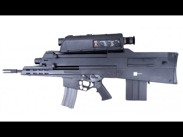 Самые необычные виды оружия - Автомат XM29 OICW