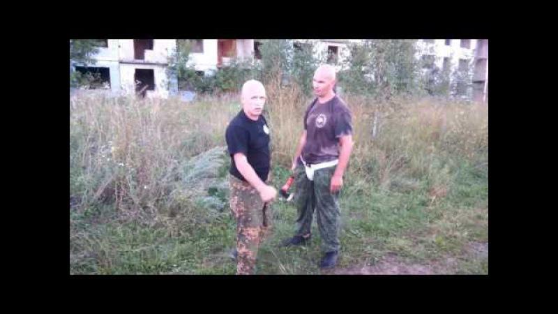 Упражнения с топором Входы в мертвую зону