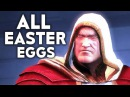 INJUSTICE 2 ALL Easter Eggs Funny References Easter Egg Shazam Raiden