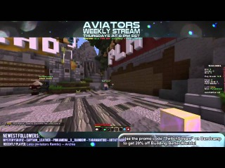 Aviators and Friends Live: August 13th, 2015 Full Stream