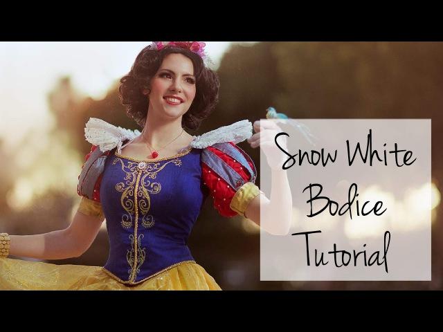 Snow White Costume Tutorial Bodice