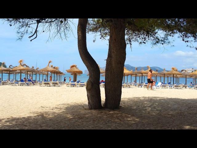 Пляж Санта Понса Майорка / Playa Santa Ponsa Mallorca