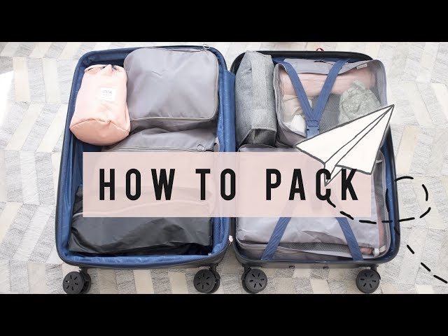 Travel Tips on How To Pack Light | ANN LE ✈