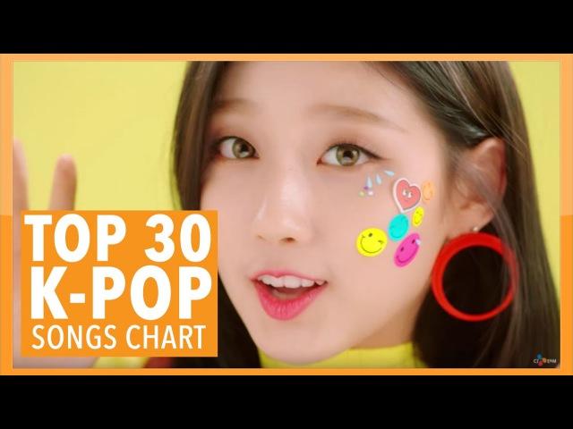 K-VILLES [TOP 30] K-POP SONGS CHART - MARCH 2017 (WEEK 1)