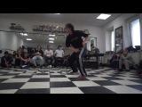 Milynia vs Ama  18 bgirl battle  DVIZH CLUB BATTLE