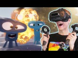 ALIEN ATTACK IN VIRTUAL REALITY! | Invasion VR (HTC Vive Gameplay)