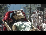 Giant Marionettes of Royal de Luxe, France in Montreal.