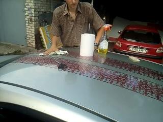 Оклейка авто орнаментом