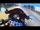Ночью на мотоцикле с друзьями - безбашенная езда по городу