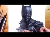 Как рисовать Бэтмена -Drawing Batman HD