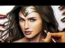 Speed Drawing Wonder Woman Gal Gadot Jasmina Susak