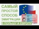 Самый Простой и Дешевый Способ Получения ВНЖ ПМЖ в Польше и Европе
