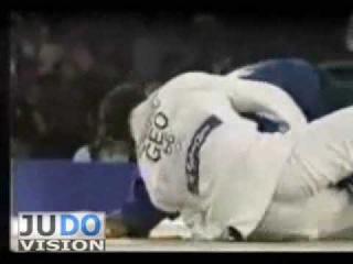 JUDO 2000 Olympics: Yordanis Arencibia (CUB) - Giorgi Vazagashvili (GEO)