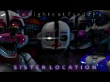 SFM FNAF SONG Left Behind by DAGames [RUS]