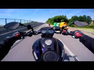Yamaha MT-07 A2 street racing
