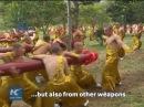 Impenetrable shield: Shaolin monks display incredible Kung Fu