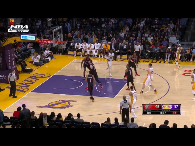 Portland Trail Blazers vs LA Lakers | Full Game Highlights | 26.03.2017