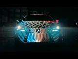 Lexus покрыла машину 42 тысячами светодиодов