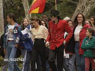 Michael Jackson And Lisa Marie Presley welcome 47 children [1995] Neverland Ranch