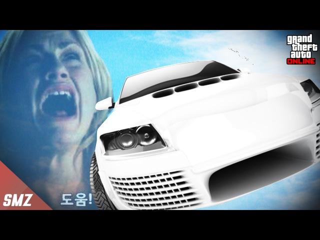 GTA초보에게 무중력 버그로 하늘에 날려보내면 과연 반응은?! 사모장의 GTA5 꿀잼 컨텐츠 (GTA 5 Funny Contents) [사모장]