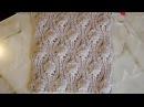Объемный узор крупными шишечками Вязание спицами Видеоуроки