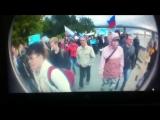ШОК! Какие то фошызды на митинге в Новосибирске 12.06.2017