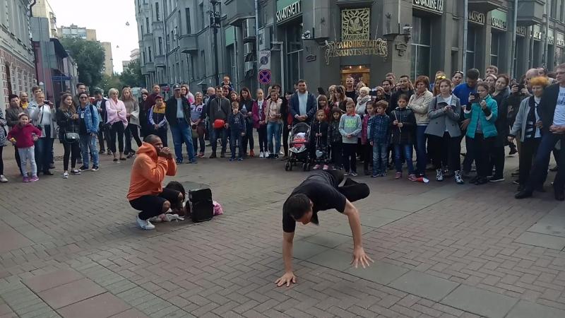 Уличные танцы 1 Арбат Москва 2017