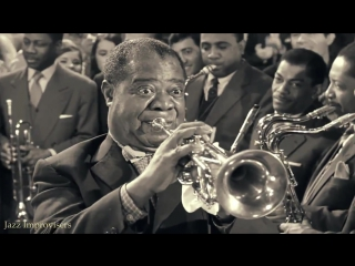 Louis Armstrong, Sidney Poitier Paul Newman - Paris Blues 1961