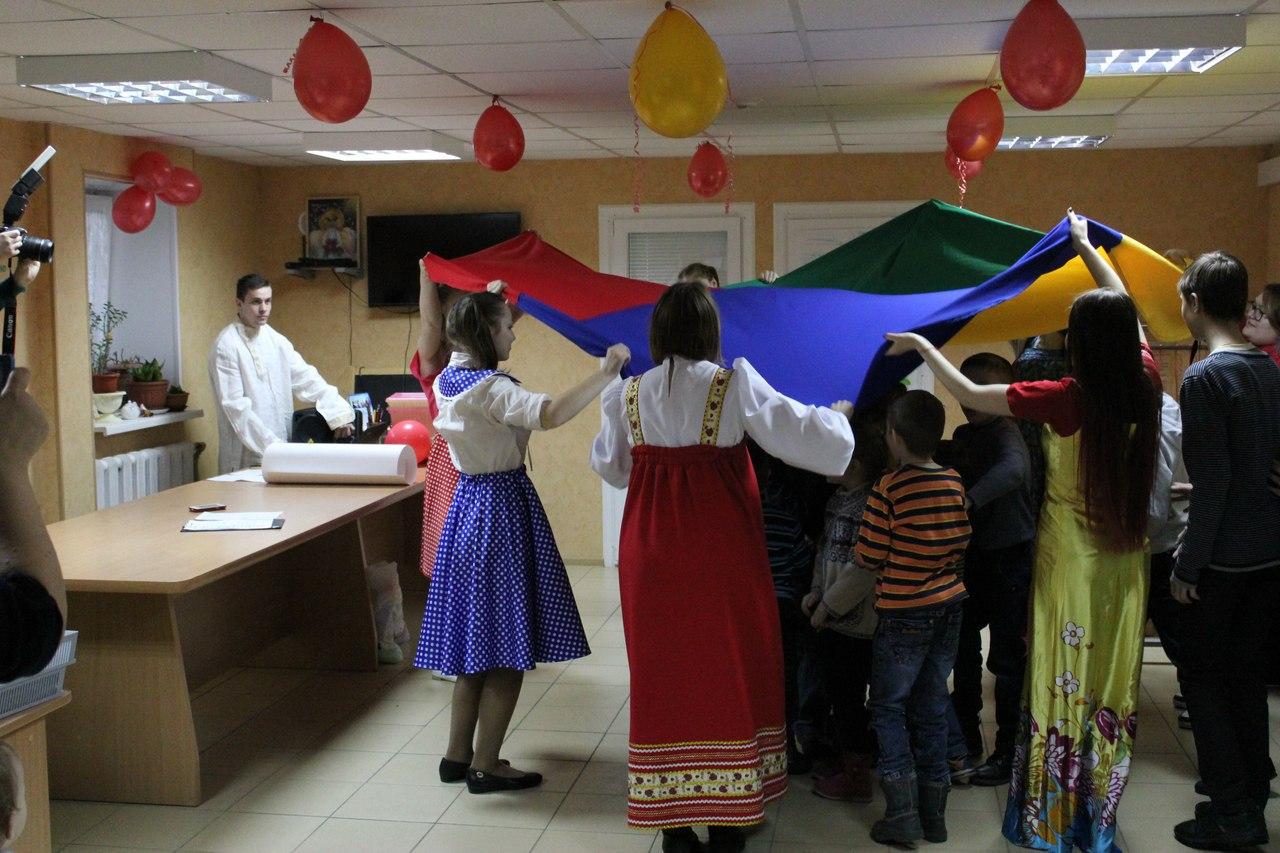 праздник в честь Воскресения Христова для подопечных центра