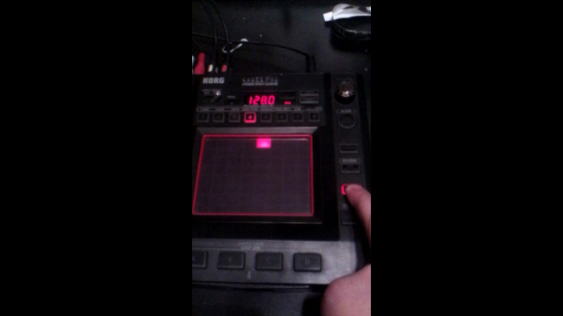Roland MC 505 , Korg R3 , Kaoss Pad 3 - 2016