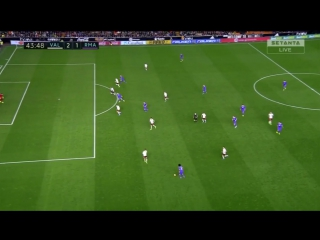 Валенсия 2:1 Реал Мадрид | Гол Роналду