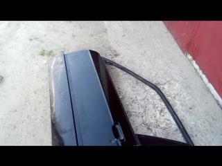 Тест водой пластиковых дверей BMW e30