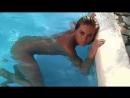 Девушка Verunka в бассейне голая \ Girl Verunka nude in the pool