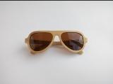 Бамбуковые деревянные очки  Aviator