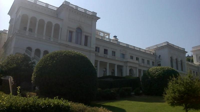 Ливадийский дворец. Ялта Сентябрь ,2017