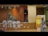 Новый год 2017 (Танец снежинок,песня снегурочки)