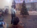 Танец Деда Мороза и Снегурочки, Часть 1, Новый год 2017, 9-11 классы