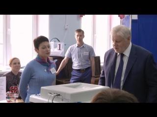 Hа избирательном участке №73 в Малом Кисловском переулке Москвы