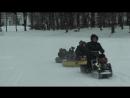 мини снегоход мопс